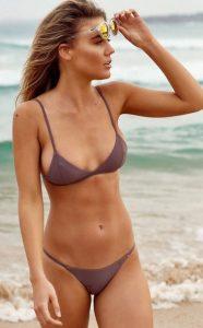 London escorts - slim model in bikini